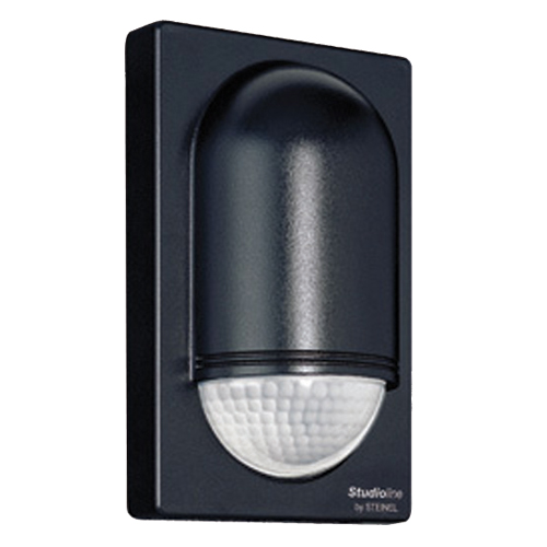 Corner Wall Security Light : STEINEL PIR E58185 IS2180-5 Corner Wall PIR Sensor 180 Degrees BlackPIR Sensors & Photocells ...