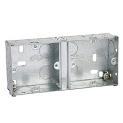 DUAL GALVANISED BOXES
