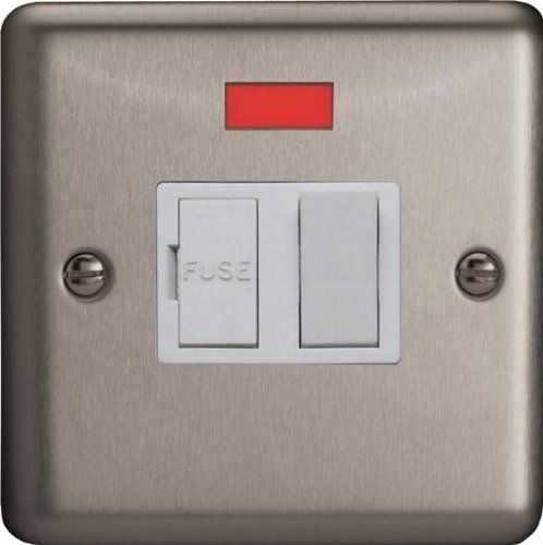 Varilight classic raised edge matt chrome modern decorative switches sockets ebay - Modern switches and sockets ...